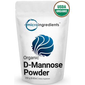 Micro Ingredients Organic D-Mannose Powder 8.8 oz.