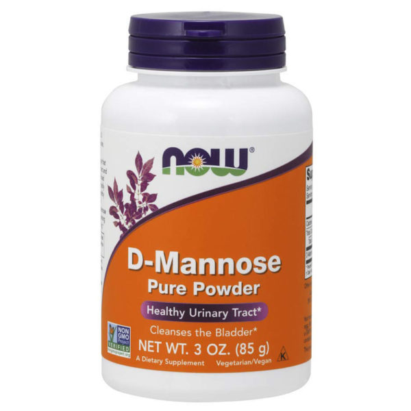 NOW Foods D-Mannose Powder 3 oz.-6 oz. (85 g-170 g)