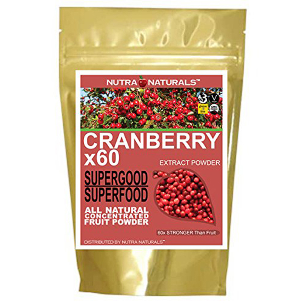Nutra Naturals Pure Cranberry Powder x60 8-16 oz.