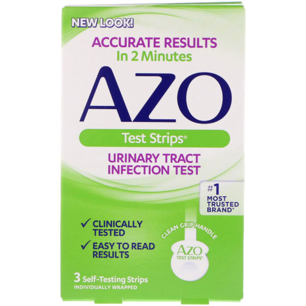 AZO Urinary Tract Infection Test Strips 3 Strips