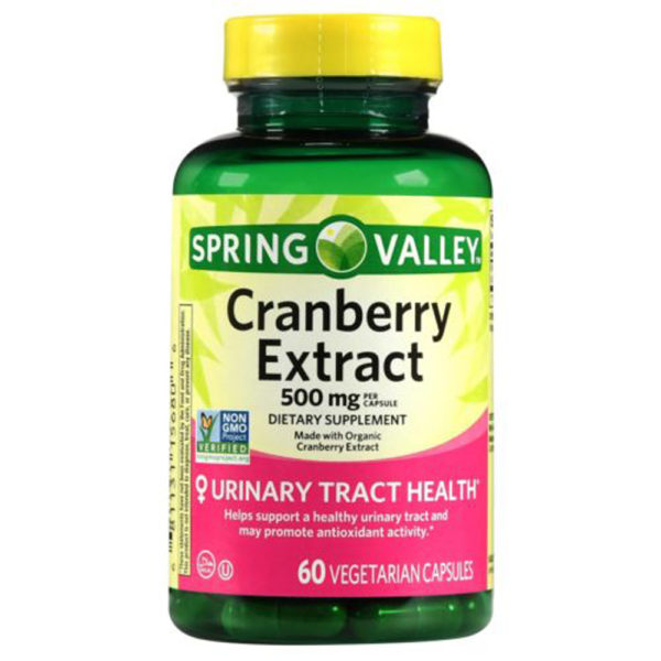 Spring Valley Organic Cranberry Extract 60 Capsules