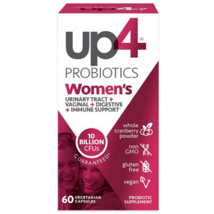 up4 Probiotics Cranberry Women's UT+ 60 Veg Caps