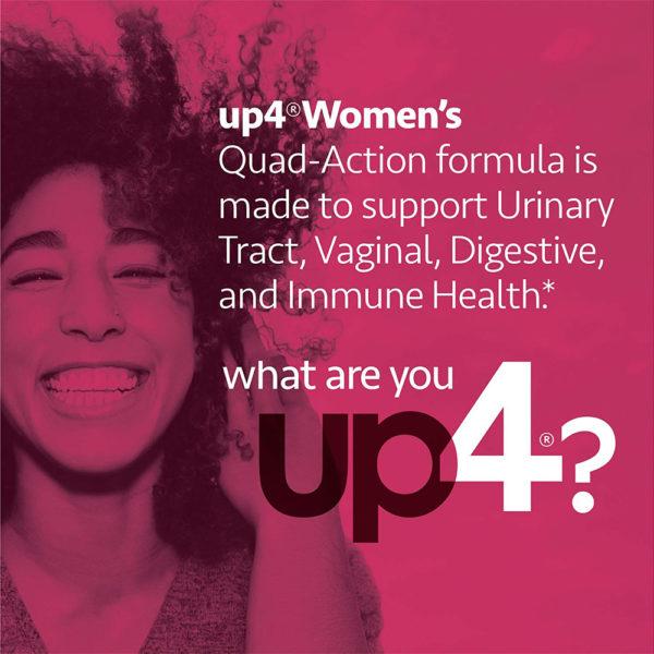 up4 Probiotics Cranberry Women's UT+ 60 Veg Caps