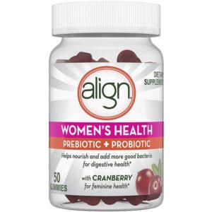 Align Women's Health Probiotic Cranberry 50 Gummies