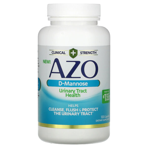 AZO Urinary Tract Health D-Mannose Caps 120 Capsules
