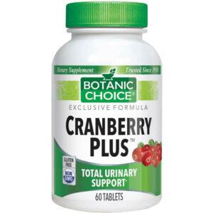 Botanic Choice Cran-Plus Cranberry + Herbs 60 Tablets