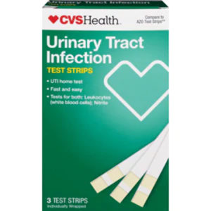 CVS Urinary Tract Infection Test Strips 3 Test Strips