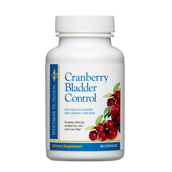 Whitaker Nutrition Cranberry Bladder Control 60 Caps