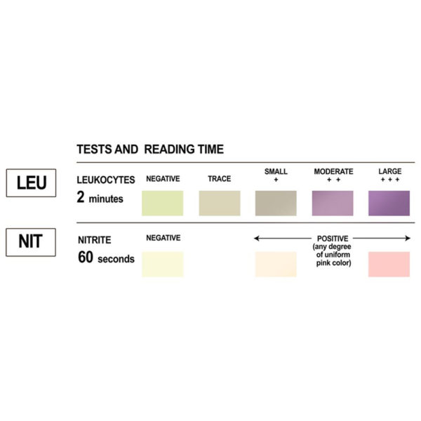 EZ Level Urinary Tract Infection Test Strips 50-100