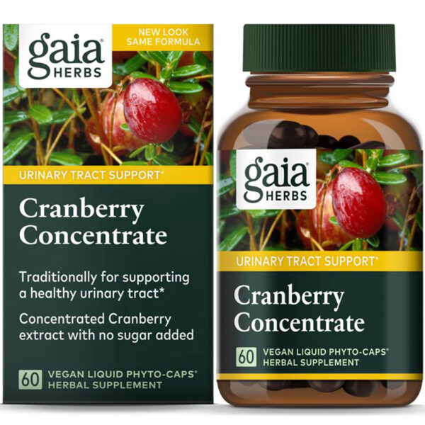 Gaia Herbs Cranberry Concentrate 60 Phyto-Caps