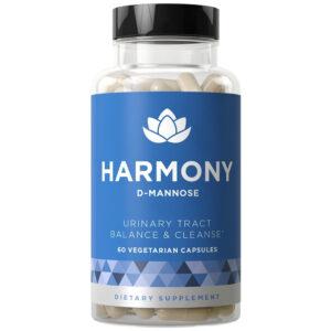 Eu Natural HARMONY D-Mannose Hibiscus 60-180 Caps