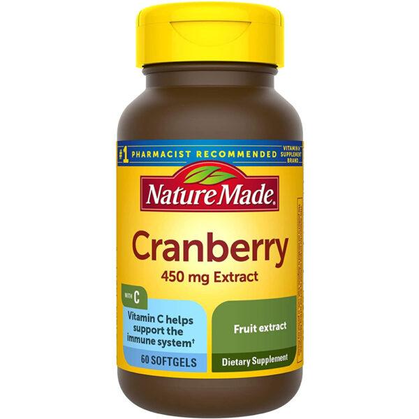 Nature Made Super Strength Cranberry 60-180 Softgels