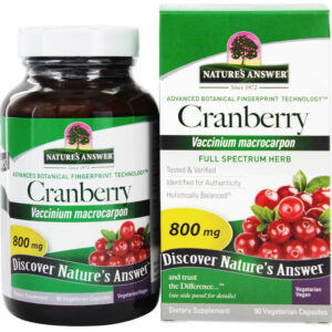 Nature's Answer Cranberry Fruit Extract 90 Capsules
