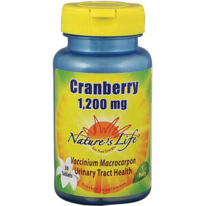 Nature's Life Cranberry Tablets 1,200 mg 30-60 Tablets