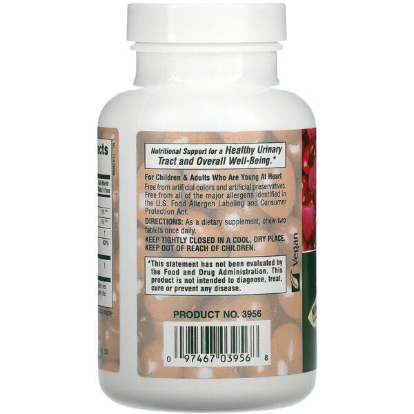 Nature's Plus Ultra Chewable Cranberry 90-180 Chewables