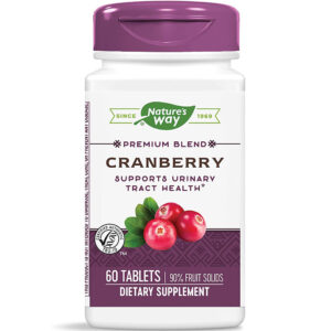 Nature's Way Cranberry w/ Vitamin C 60-120 Tablets