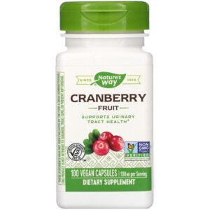 Nature's Way Cranberry Fruit 930 mg 100-180 Capsules