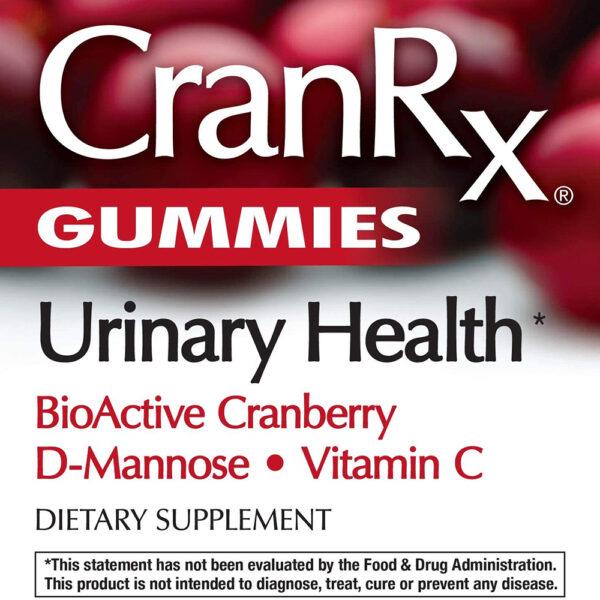 Nature's Way CranRx Cranberry D-Mannose 60 Gummies