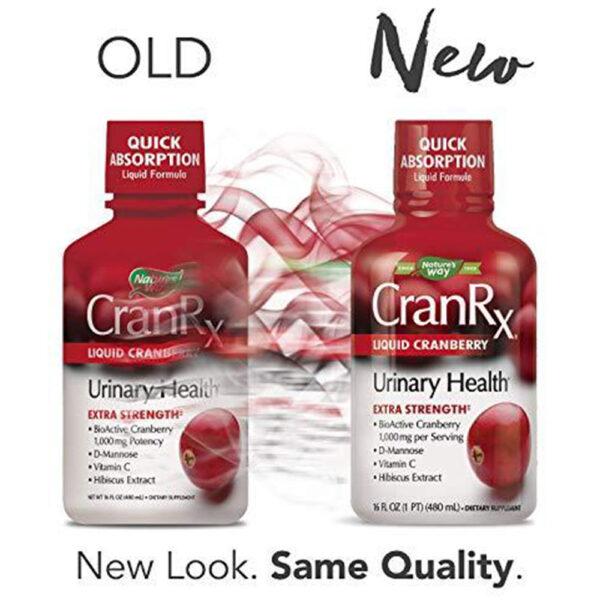 Nature's Way CranRx Cranberry D-Mannose Liquid 16 oz