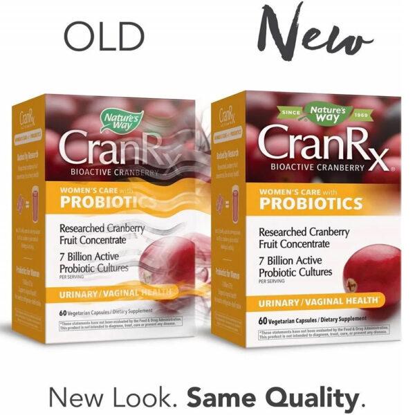Nature's Way CranRx Cranberry w/ Probiotics 60 Caps