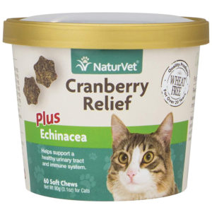 NaturVet Cranberry Relief for Cats 60 Soft Chews