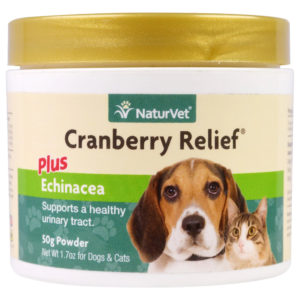 NaturVet Cranberry Powder Dogs Cats 1.7 - 3.5 oz.