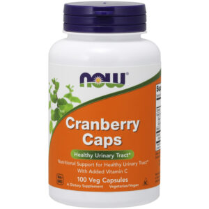 NOW Foods Cranberry Caps w/ Vit C 100 Veg Capsules