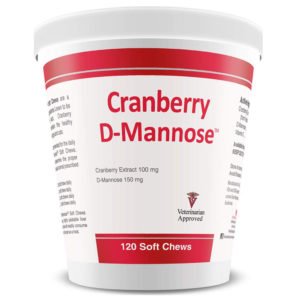 Pet Health Solutions Cranberry D-Mannose 120 Chews