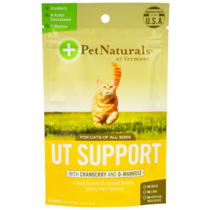 Pet Naturals Urinary Cranberry D-Mannose Cats 60 Chews