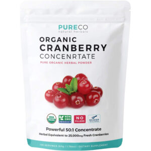Pure Co Organic Cranberry Powder 50:1 1.76 oz (50 g)