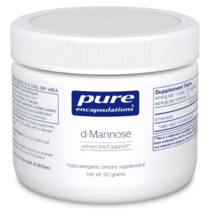 Pure Encapsulations Pure D-Mannose Powder 1.76-3.5 oz
