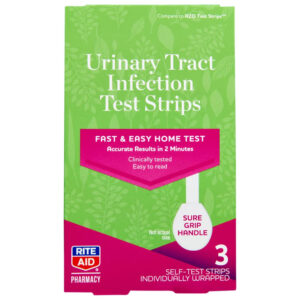 Rite Aid Urinary Tract Infection Test 3 Test Strips