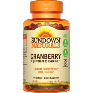 Sundown Naturals Super Cranberry 8400 mg 150 Softgels