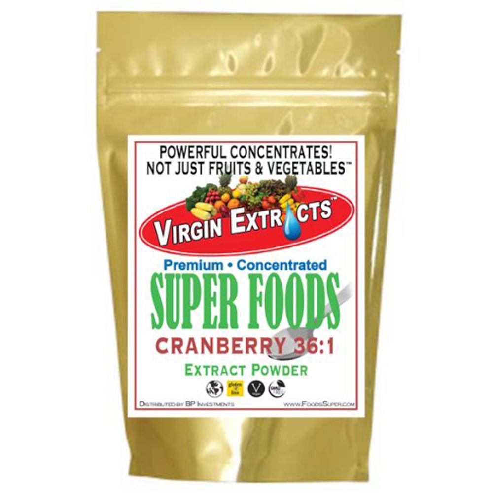 Virgin Extracts Organic Cranberry Powder 36:1 16oz